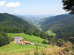 La haute vallée de la Lièpvrette.