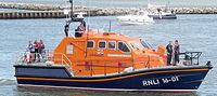 Canot de sauvetage britannique de la RNLI, basé à Poole