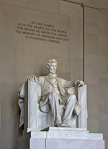 Lincoln Memorial (Lincoln tall).jpg