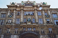 exterior shot of ornate nineteenth century building