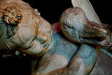 Little boy greek sculpture wrestling a goose.jpg