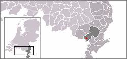 Localisation de Haler dans la commune de Leudal