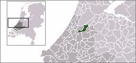 Carte de localisation de l'ancienne commune