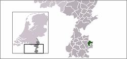 Localisation de Landgraaf