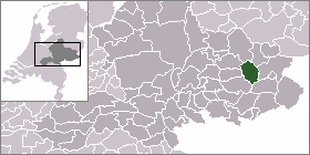 Location municipality Ruurlo