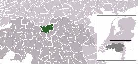 Localisation de Bois-le-Duc