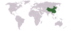 Location of China