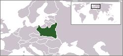 Ubicación de Polonia