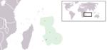 Poloha Mauricia