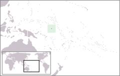 Nauru - Localizzazione