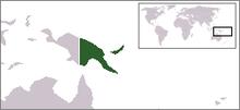 Papua Nuova Guinea - Localizzazione