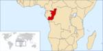 刚果位置图