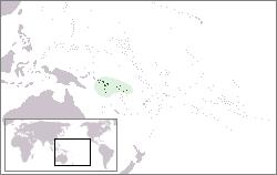 Isole Salomone - Localizzazione