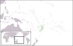 Tonga - Localizzazione