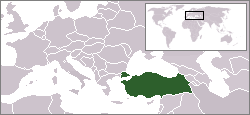 Kart over Türkiye Cumhuriyeti