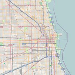 (Voir situation sur carte: Chicago)