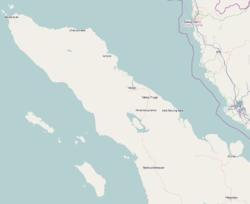Banda Aceh is located in Sumatra