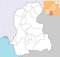 Karachi  کراچی is located in Sindh