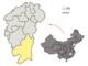 La préfecture de Ganzhou dans la province du Jiangxi