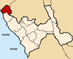 Location of the province Chepn in La Libertad.png