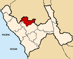 Location of the province Gran Chim in La Libertad.PNG