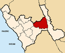 Location of the province Snchez Carrin in La Libertad.png