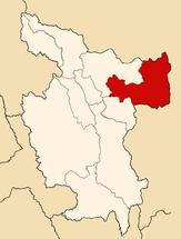 Location of the province San Martín in San Martín.PNG