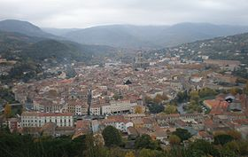 Vue générale de la ville
