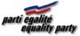 Logo du Parti Égalité