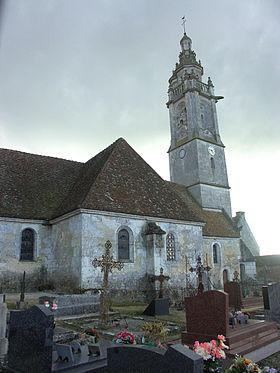 L'église paroissiale Saint-Martin.