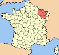 Mapa de Lorena