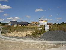 Lotissement les Chalussons Nord en construction