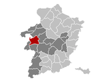 Lummen Limburg Belgium Map.png