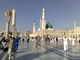 Masjid al-Nabawi, la «mosquée du Prophète»