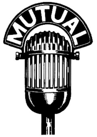 "Illustration of microphone. A curved attachment atop it reads ""Mutual""."
