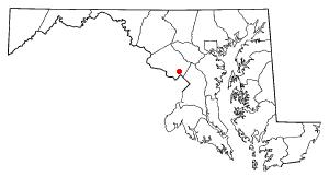 Location of Wheaton-Glenmont, Maryland
