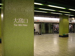 Tai Wo Hau Station