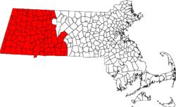 Location of area code 413