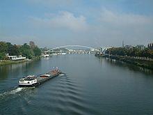 De Maas nabij Maastricht