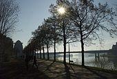 Maas en Charles Eykpark
