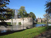 Stadspark met bastion