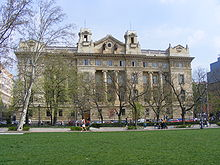 Hungarian National Bank's building, Budapest