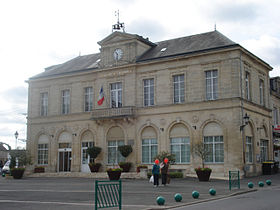 La mairie du Molay-Littry