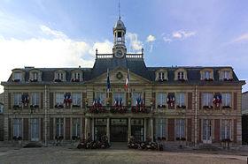 L'hôtel de ville de Maisons-Alfort.