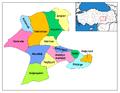 Districts of Malatya