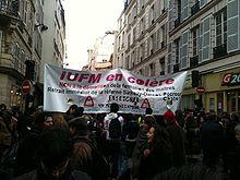 Manifestation parisienne du 18 février 2010 contre la réforme dite de mastérisation