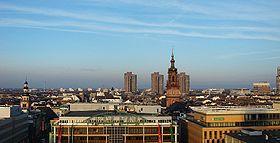 View of Mannheim's Centre