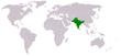 Sous continent indien.