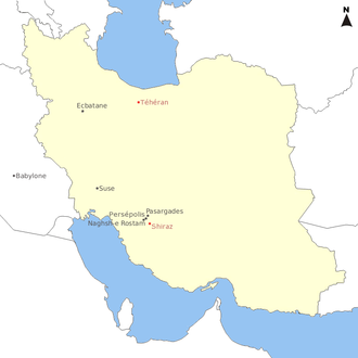 Capitales achéménides