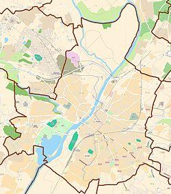 (Voir situation sur carte: Angers)